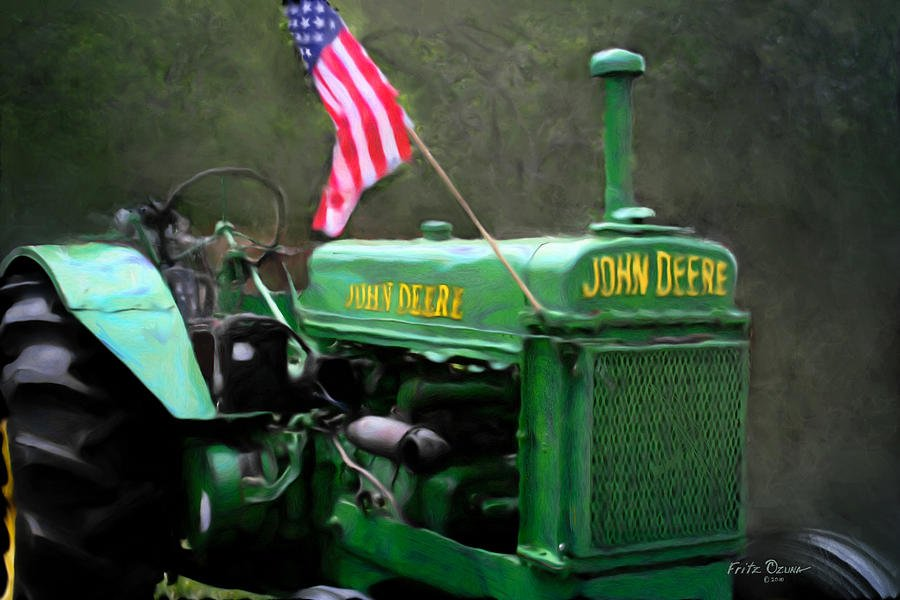 covid update image of tractor